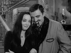 Full confession: Morticia and Gomez are what made me believe in true love. Addams Family Quotes, The Addams Family 1964, Addams Family Tv Show, Adams Family, Addams Family Values, Morticia And Gomez Addams, Charles Addams, Carolyn Jones, The Addams Family