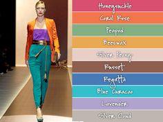 couleurs mode 2014 fashion colors 2014