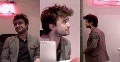 Hace unas semanas Daniel Radcliffe trabajó como recepcionista para la revista Nylon. Radcliffe fue al lugar pensando que sería entrevistado pero la revista decidió hacer un experimento y dejarlo encargado de recepción por una hora.  Todo parecía ir muy bien hasta el momento que comenzaron a llegar los paquetes, las citas y otros llamados, y el actor seguro deseo poder hacer magia para desaparecer del lugar. Incluso tuvo que atender la visita de Joe Jonas quien fingió no reconocerlo e…