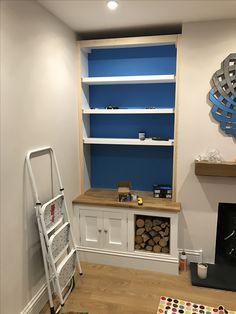 Alcove Shelving Room Shelves Storage Living Home