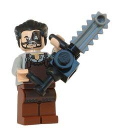 NEW LEGO JACK-O-LANTERN MINIFIG halloween pumpkin chainsaw masacre zombie