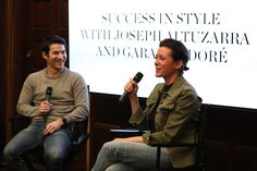 Joseph ALTUZARRA and Garance Dore joined together to talk success in style.