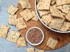Salty Foods, Salty Snacks, Healthy Baking, Healthy Recipes, Party Dips, Baked Goods, Food And Drink, Yummy Food, Vegan