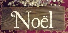 Noel sign for Christmas   rustic handpainted by Amyinashell, $10.00