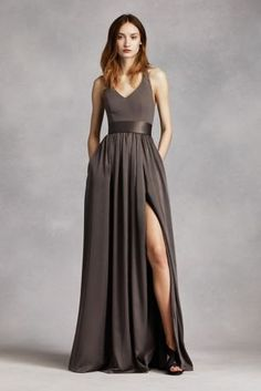 Comes in blush! Bridesmaids need to be in the same color theme, not the exact same style dress!