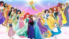 What makes a character a Disney Princess? There's actually a procedure for it, with a set of rules and an official ceremony. There's a list of official Disney Princesses, w… Cute Disney, Disney Girls, Disney Art, Walt Disney, Ariel Disney, Disney Princess Lineup, Disney Princess Pictures, Disney Princess Names, Images Disney
