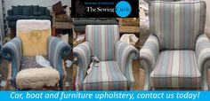 Give your old furniture a new life!  Do you feel as if it is time to get your old furniture upholstered and bring them back to life? Well then we have got you covered at The Sewing Circle, we take great care in all of our restorations and love to see a client satisfied with our services.  We offer a wide range of services and products varying from car, boat and furniture upholstery all the way to curtain rails and accessories!  For any more information please don't hesitate to give us a…