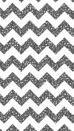 Cool Glitter Chevron iPhone 6 Plus Wallpaper - DIY Zigzag Pattern #iPhone #6…