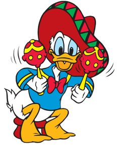CLIPART DESIGN Disney Daisy Donald Duck VECTOR EPS