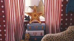 circus theme room on youtube | Decoratingetc: Create a cool kid's room with Livingetc - YouTube