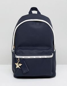 Buy Tommy Hilfiger Logo Tape Mini Backpack at ASOS. Get the latest trends with ASOS now. Tommy Hilfiger Luggage, Mini Mochila, Asos, Teenage Girl Gifts, Casual Street Style, Mini Backpack, Gifts For Teens, Luxury Handbags, Fashion Backpack