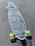 Swirl Ghost Board – Ghost Long Board Big Boys, Purple, Blue, Skate, Yellow, Board, Red, Sign, Viola