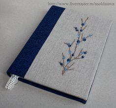 """Блокноты ручной работы. Ярмарка Мастеров - ручная работа Блокнот """"Синий"""". Handmade."""