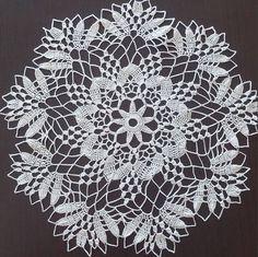 Lace Doily, Round Crochet Cotton Delicate Doily, Handmade C Free Crochet Doily Patterns, Crochet Doily Diagram, Crochet Lace Edging, Crochet Art, Crochet Round, Cotton Crochet, Crochet Gifts, Doily Wedding, Crochet Dollies