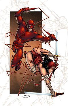 DD and Elektra by Alonso Espinoza