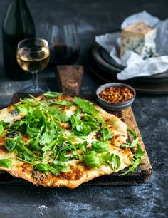 From The Kitchen: Loaded Four Cheese Pizzas with chilli, rocket & lemon