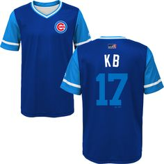 12829f073da Kris Bryant Chicago Cubs 2018 Players Weekend Youth Sublimated Jersey Top  By Majestic  ChicagoCubs