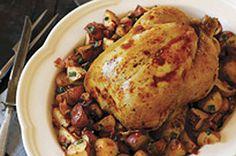 Rosemary-Roasted Chicken & Potatoes recipe
