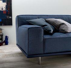 Jeans no sofá