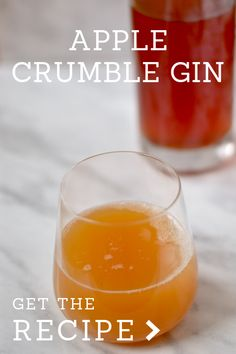 This is what you need this winter - apple crumble gin! Gin Recipes, Alcohol Recipes, Cocktail Recipes, Cocktails, Cooking Recipes, Make Your Own Gin, Spicy Candy, Flavoured Gin, Homemade Alcohol