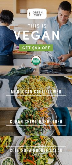 Let's Vegan the New Year! Green Chef makes cooking vegan easy. Get fresh, organic ingredients and 30-min recipes, delivered and ready to cook. Sign up today for $50 OFF