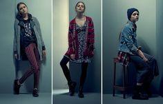 catalogo pull and bear otoño invierno 2013/2014 rojo