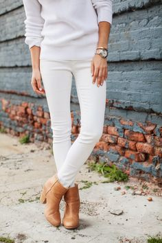 White for fall.