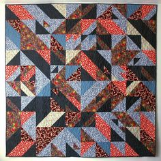 These quilts designed by Libs Elliott after collaborating with Joshua Davis using a programming language called Processing are a an extraordinary addition to the symbiotic relationship between crafting and code.
