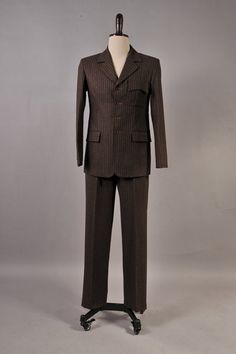 Doctor Who 10th Doc. Brown Pinstripe Costume Custom-made by cossky