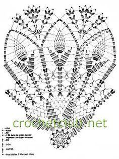 grafico de crochet para sombrinha