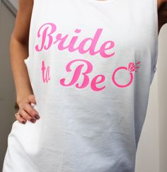 www.BridesmaidTank.com Drinking, T Shirts For Women, Bride, Tank Tops, Fashion, Drinks, Moda, Drink, Halter Tops