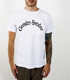 Gender Bender T-shirt / Androgynous Queer Punk LGBT TransgenderGay Pride - For Sale on Etsy