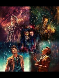 The Tardis Fanart Doctor Who - -You can find The tardis and more on our website.The Tardis Fanart Doctor Who - - The Doctor, Serie Doctor, Doctor Who Art, Eleventh Doctor, Matt Smith, David Tennant, Dr Who, Digital Painter, Penny Dreadful