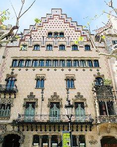 Puig i Cadafalch. Casa Amatller. Barcelona