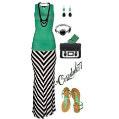 Chevron Maxi by crzrdnk77 on Polyvore featuring Zalando, Oasis, Givenchy, Free People and Irene Neuwirth