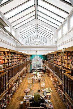 Daunt Book Shop in London , via The Londoner » Coffee 'n' Books