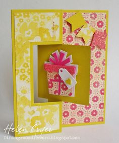 Sizzix Triplits Die Sets - Gifts, Cupcakes, Balloons and Tags Cards