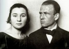Martha Koch and Otto Dix * Hugo Erfurth, um 1923.