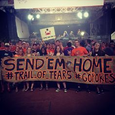 OSU Sports: 'Trail of Tears' sign at ESPN College GameDay sparks university, Cherokee Nation response