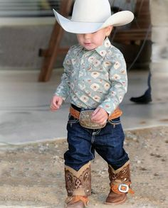 Trendy baby clothes country boy little cowboy Cowboy Baby Clothes, Toddler Cowboy Boots, Baby Boy Cowboy, Little Cowboy, Trendy Baby Clothes, Cute Baby Boy, Camo Baby, Baby Boys, Cowgirls