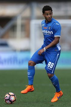 Munoz Tello of Empoli FC in action during the Serie A match between Empoli FC and Juventus FC at Stadio Carlo Castellani on October 2, 2016 in Empoli, Italy.