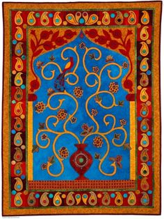 "Shulamit Ron ""King Solomon's Magical Carpet"".  Perfectly complementary."