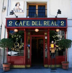 Madrid, Cafe del Real - Spain