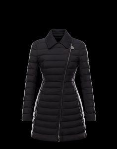 Moncler Noues Women Doudoune Elastique Broadcloth Collar Coat Hot Sale