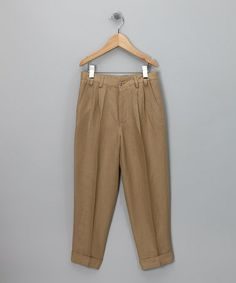 Another great find on #zulily! Tan Linen Pants - Toddler & Girls by Yo Baby #zulilyfinds