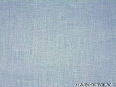 Lin, uni, bleu clair, 145cm 500710-3 - Tissu et mercerie Tissus-Zanderino.fr