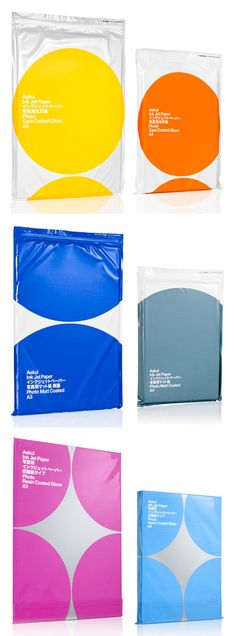 Askul Paper Designed by Stockholm Design Lab PD Plastic Bag Packaging, Packaging Box, Print Packaging, Paper Packaging, Design Lab, Book Design, Web Design, Graphic Design, Plastic Bag Design