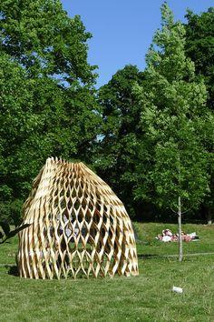 Gallery of Wood Pavilion / Wing Yi Hui + Lap Ming Wong - 11