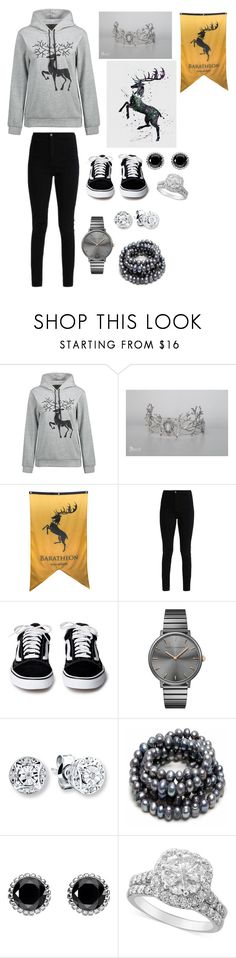"""""""House Baratheon"""" by giulia-ostara-re ❤ liked on Polyvore featuring Rebecca Minkoff and Thomas Sabo"""
