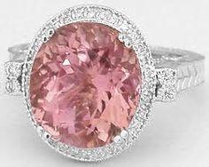 Image result for antique pink engagement ring